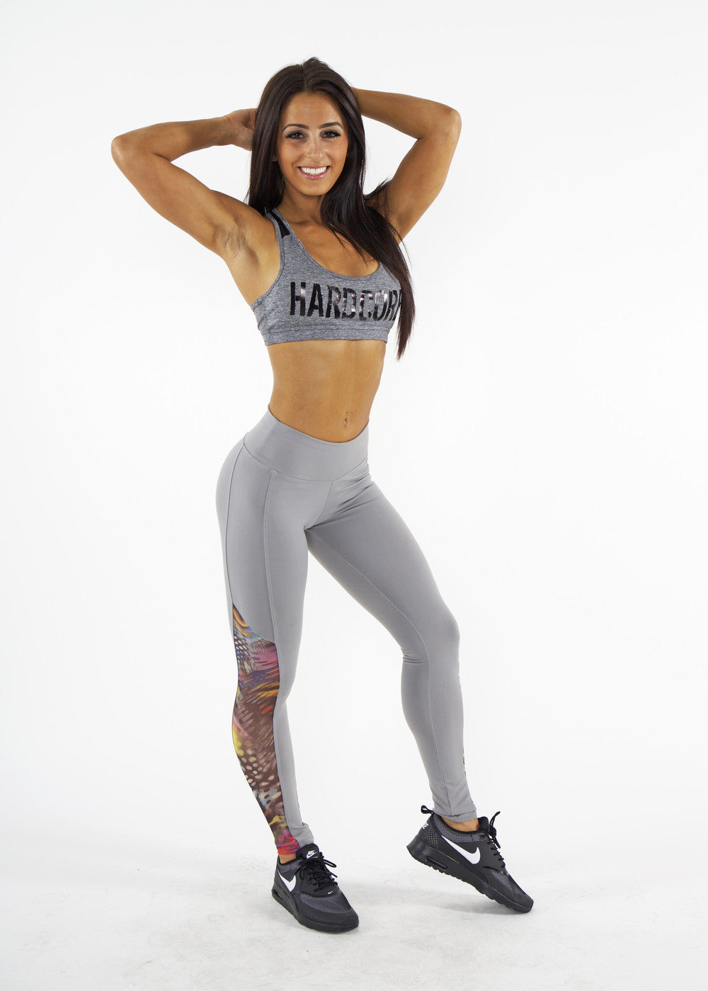 LIGHT GREY MISTA LEGGINGS