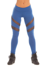 Royal Blue Heather Leggings