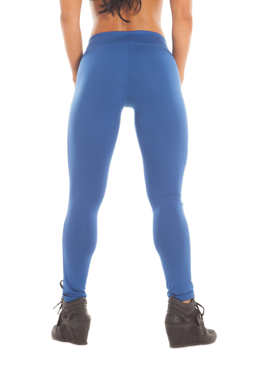 HEATHER ROYAL LEGGINGS