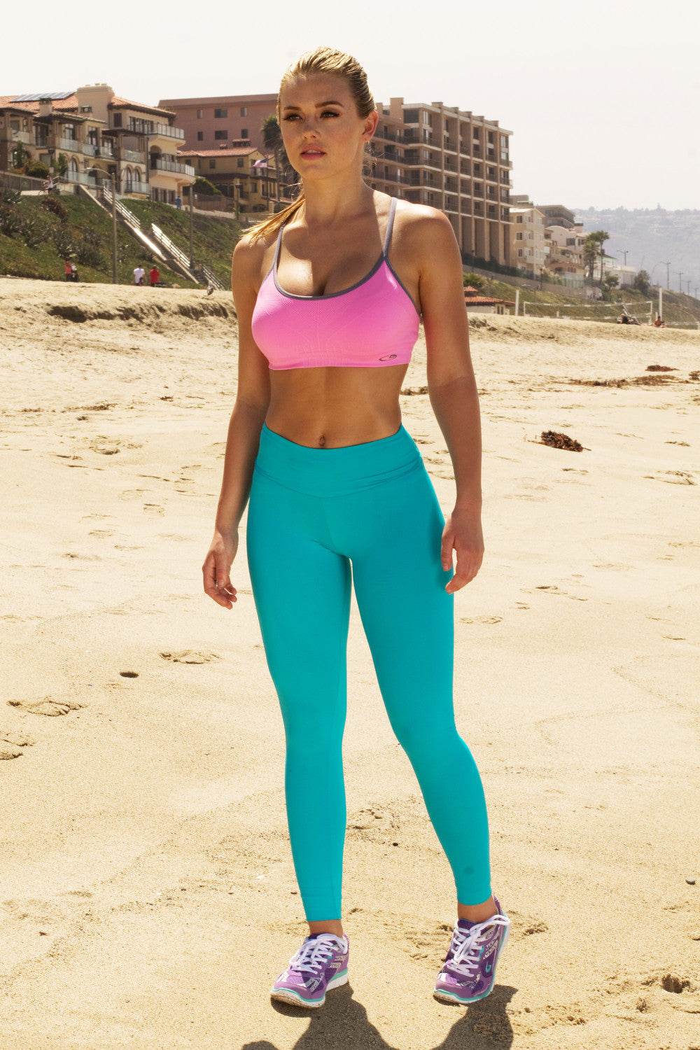 Teal Light Weight Leggings