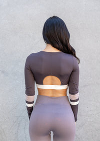 Joy Long Sleeve Crop Top