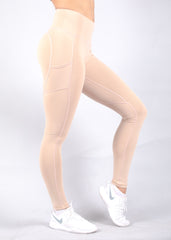 NUDE HEARTCORE SIDE POCKET LEGGINGS