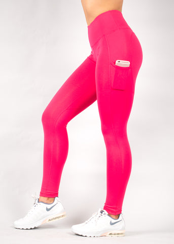 WATERMELON HEARTCORE SIDE POCKET LEGGINGS