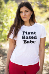 WHITE PLANT BASED TOP