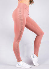 ZEN DUSTY ROSE LEGGINGS