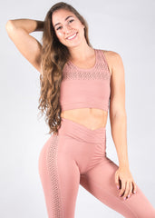 ZEN DUSTY ROSE SPORT TOP