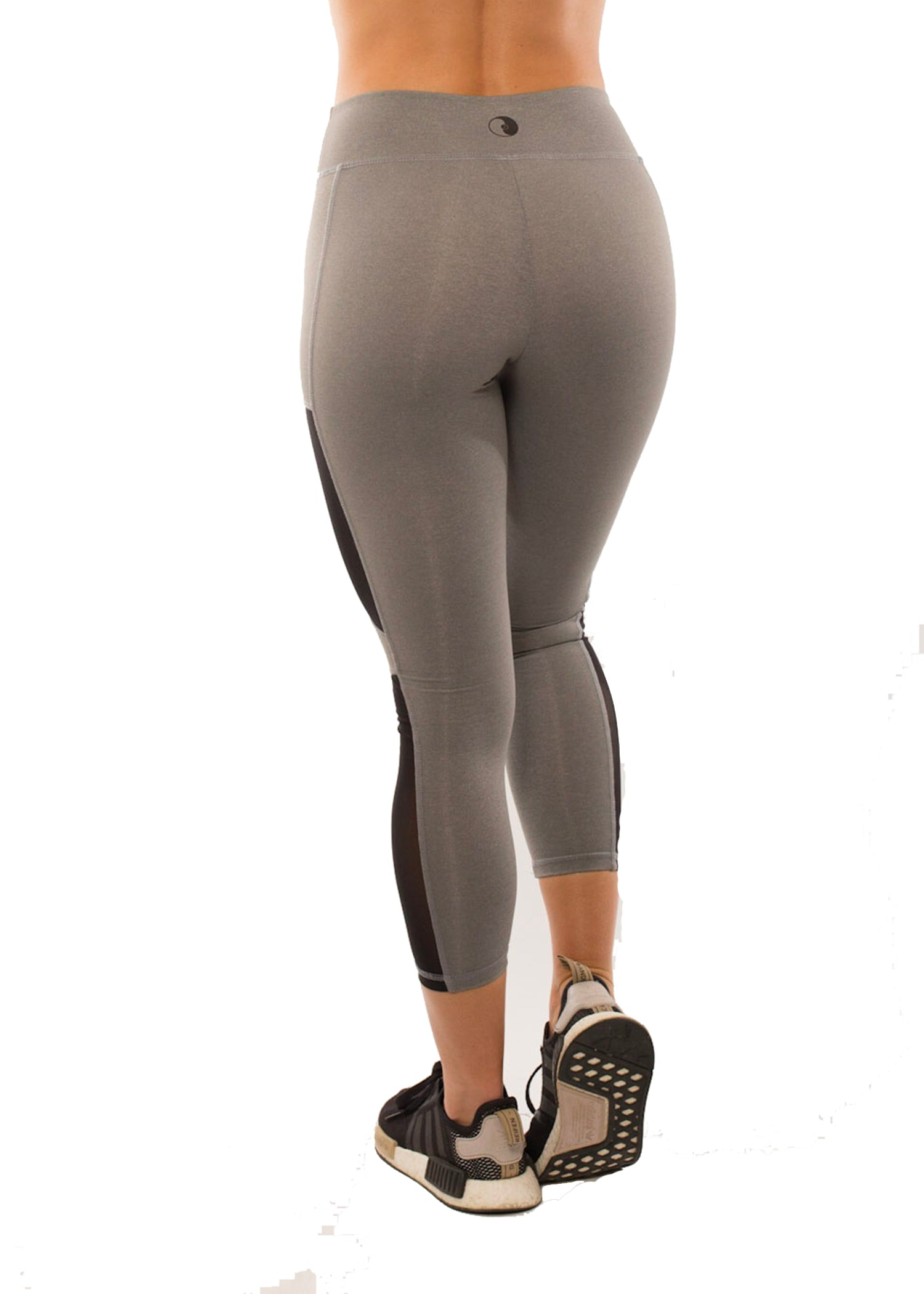 HYPE GREY SIDE POCKET CAPRI