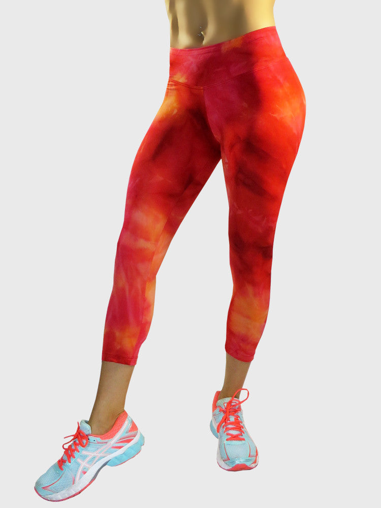 Red Rainbow Capri