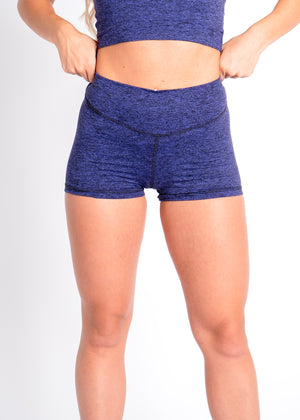 Cosmic Lavender Scrunch Shorts