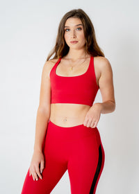 Flexi Red Sport Bra