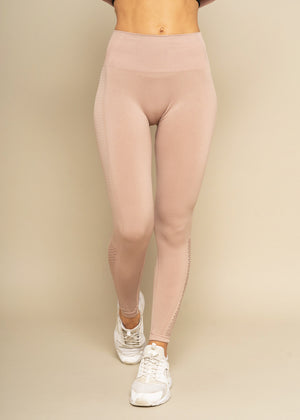 Oness Almond Seamless Highwaisted Leggings