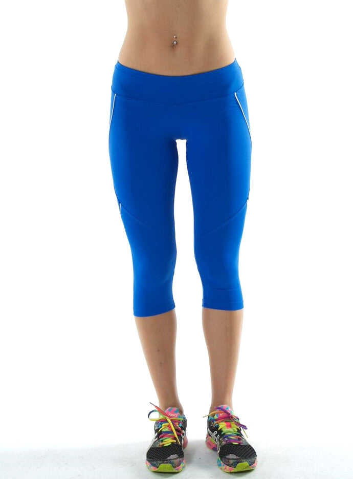 Piping Royal Blue Capri