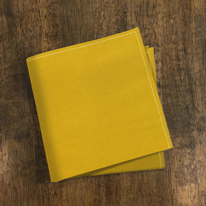 Mustard Pocket Square