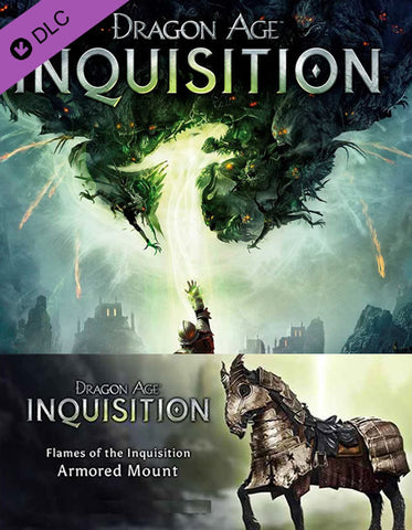 Dragon Age Flames of the Inquisition Armored Mount DLC
