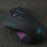 Silent Frosted Ergonomical Gaming Mouse 2400DPI - GamesRCheap.com