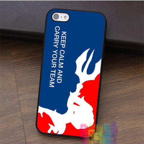 Keep Calm And Carry Your Team League of Legends iPhone Case