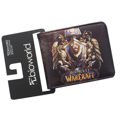 Leather World of Warcraft Wallet