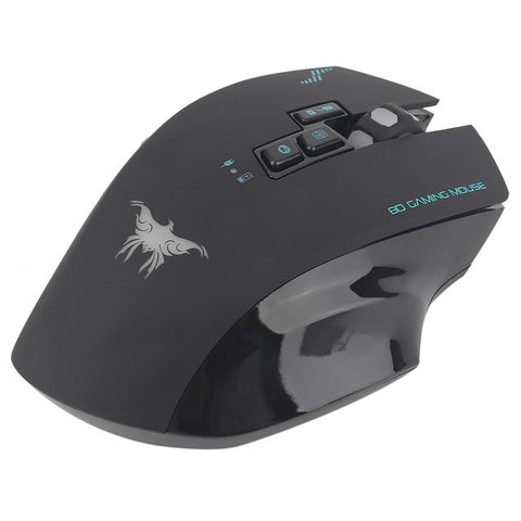 CW100 Professional Wireless Wired 2400DPI Optical Gaming Mouse High Precision 30M Distance