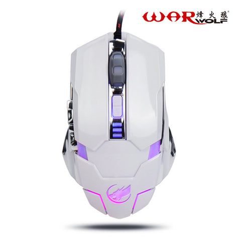 Warwolf 2.4GHz, 3200DPI, 6 Button, Macro Programming Funcion, PC Mouse