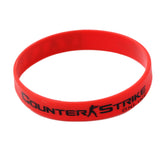 CSGO Counter-Strike Rubber Bracelet (Red, Yellow, White)