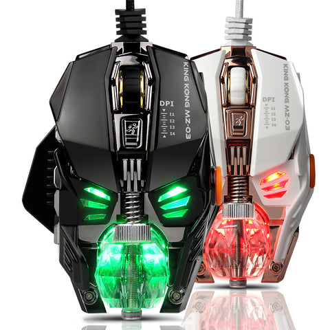 High Performance Pro Gaming Mouse with Metal Detachable Weight Block Crystal Ball