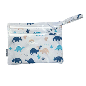 Desert Dinos - Waterproof Wet Bag (For mealtime, on-the-go, and more!)