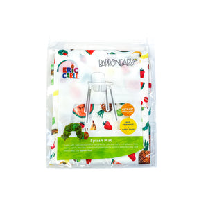 Tropical Fruit Splash Mat - from the World Of Eric Carle - A Waterproof Catch-All for Highchair Spills and More!