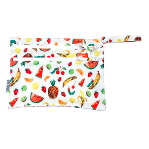Tropical Fruit - Waterproof Wet Bag (For mealtime, on-the-go, and more!) - from the World Of Eric Carle