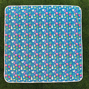 BapronBaby Splash Mat - A Waterproof Catch-All for Highchair Spills (more colors available!)