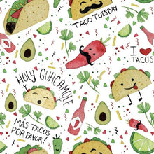 Load image into Gallery viewer, Taco Party Splash Mat - A Waterproof Catch-All for Highchair Spills and More!