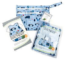 Load image into Gallery viewer, Be Brave - Police Patrol Splash Mat - A Waterproof Catch-All for Highchair Spills and More!