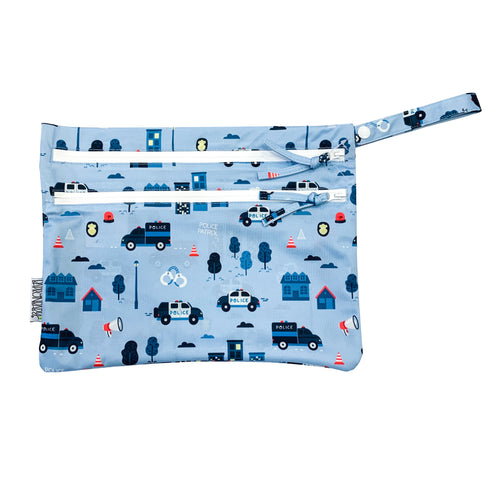 Be Brave - Police Patrol - Waterproof Wet Bag (For mealtime, on-the-go, and more!)