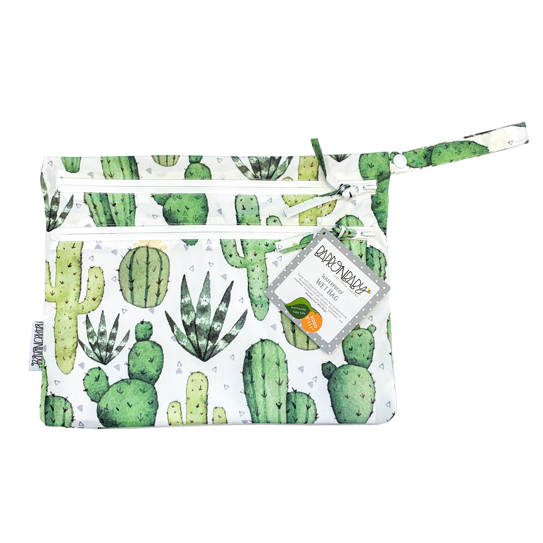 Desert Cactus - Waterproof Wet Bag (For mealtime, on-the-go, and more!)