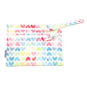 Sweethearts - Waterproof Wet Bag (For mealtime, on-the-go, and more!)