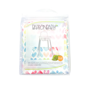 Sweethearts Splash Mat - A Waterproof Catch-All for Highchair Spills and More!