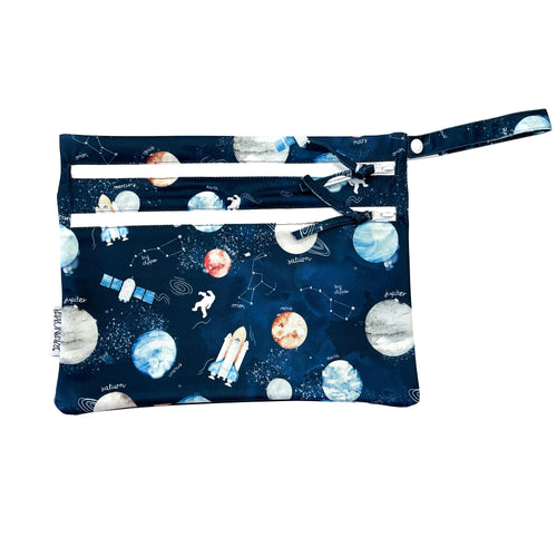 Outer Space - Waterproof Wet Bag (For mealtime, on-the-go, and more!)