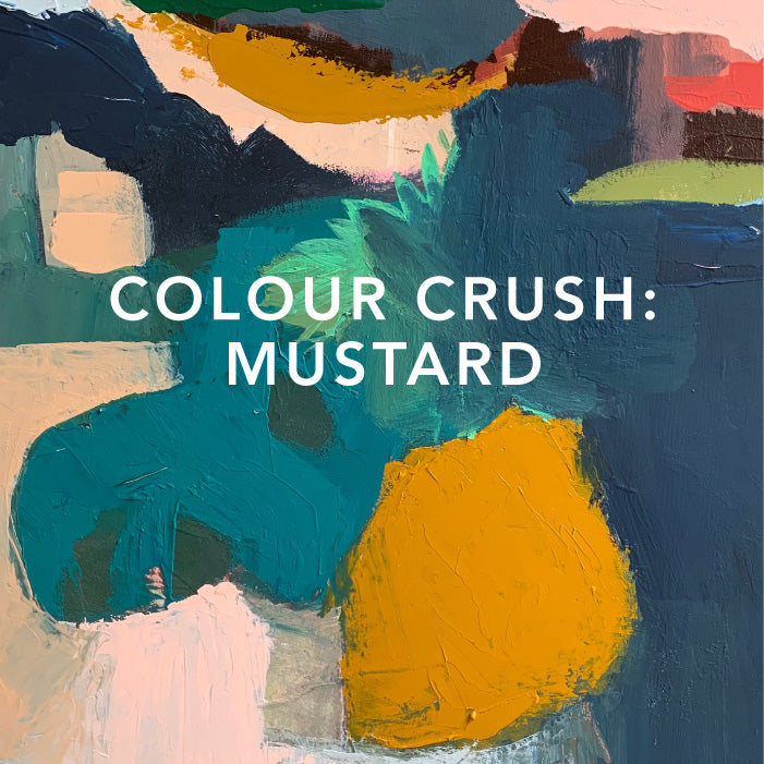 Colour Crush: Mustard