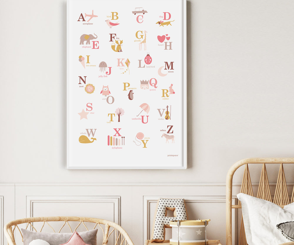 New: Alphabet Poster Printables