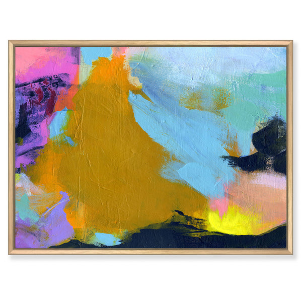 Vigour in the Sun original abstract painting nicholas girling
