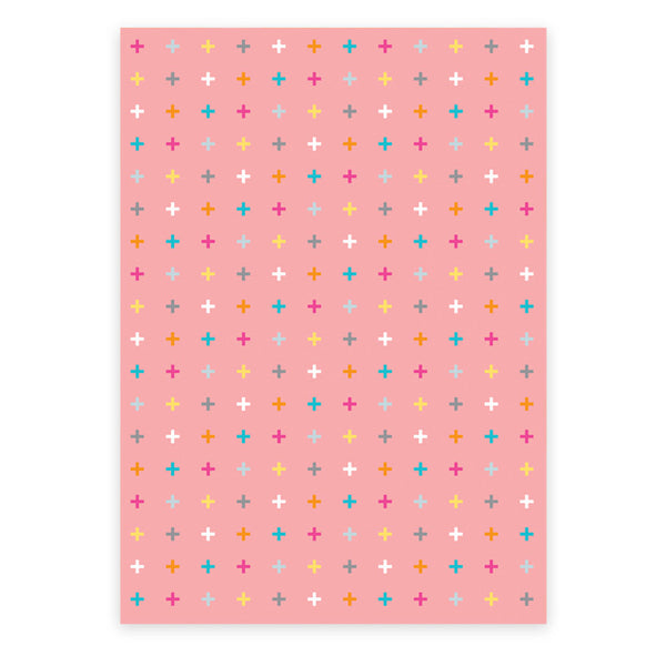 Cross Wrapping Paper (3 sheets) - printspace