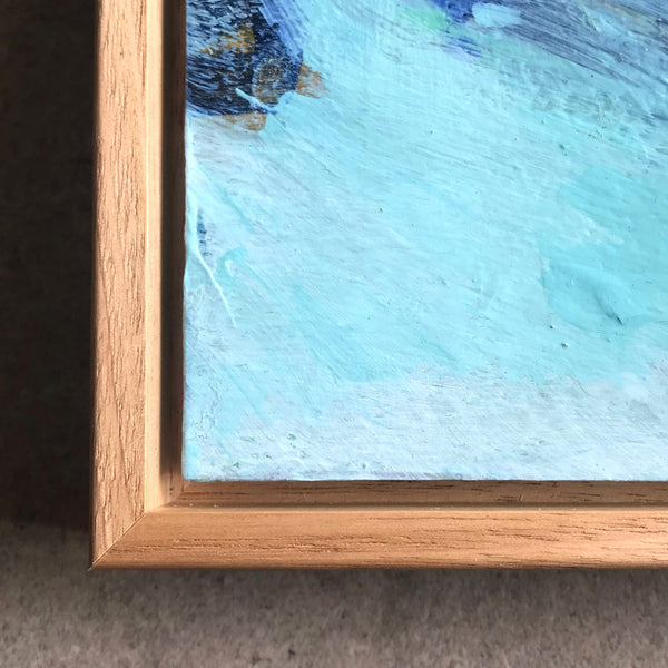 Shadowbox floating framing style nicholas girling art