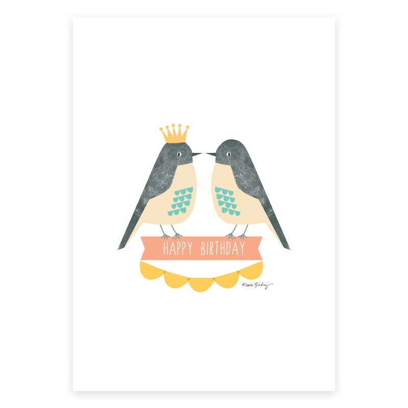 Birthday Love Greeting Card - printspace