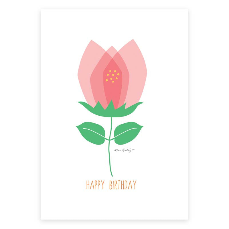 Birthday Wishes Greeting Card - printspace