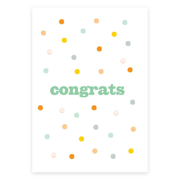 Congrats Greeting Card - printspace
