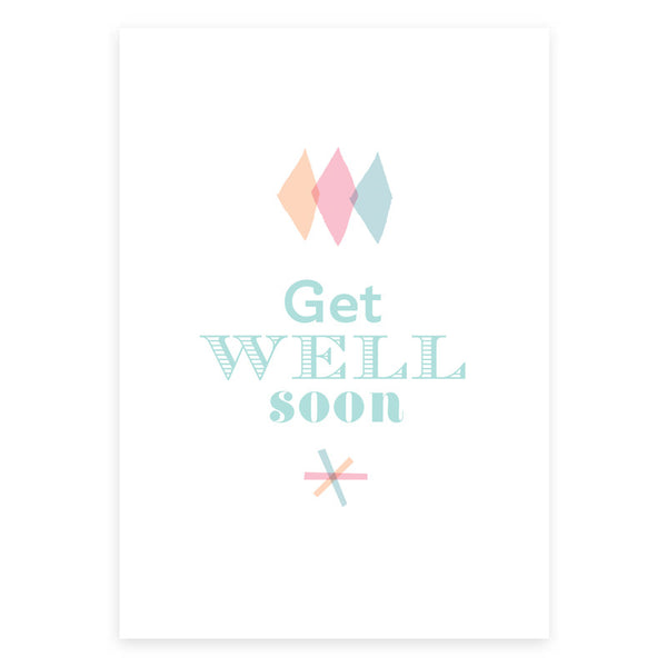 Get Well Greeting Card - printspace