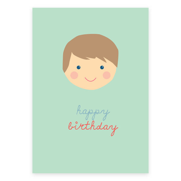 Happy Birthday Little One Greeting Card