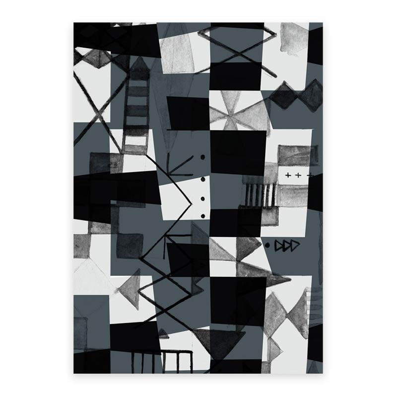 Noir Wrapping Paper (3 sheets)