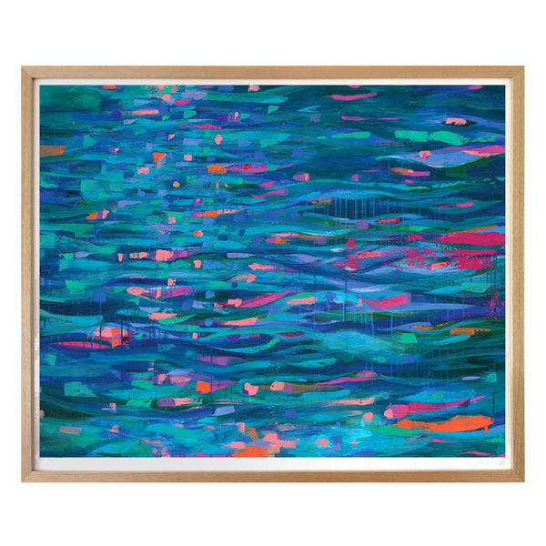 Silky River Limited Edition Art Print