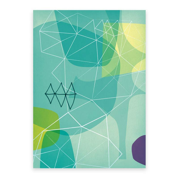 Stencil Wrapping Paper (3 sheets)
