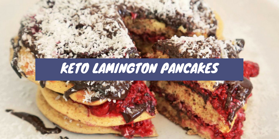 Recipe: Keto Lamington Pancakes